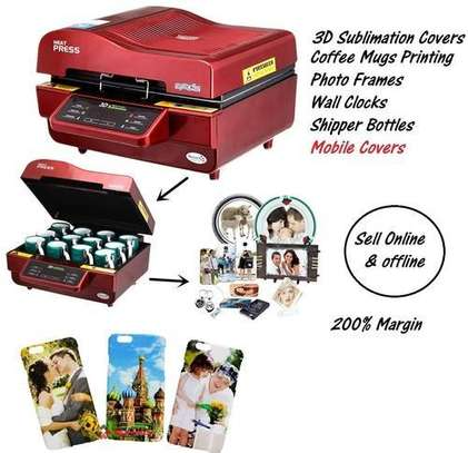 3d Sublimation Machine For Phone Cases Printing image 1