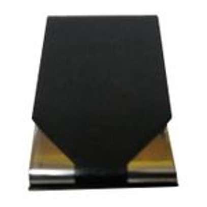 Leather card holder-Black image 2