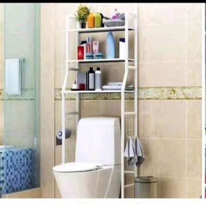 Toilet stand rack image 1