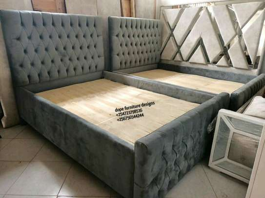 Chesterfield 6*6 beds/classy beds. image 1