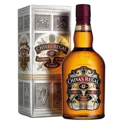 Chivas Regal 12 Year Old Blended Scotch Whisky - 1L image 1