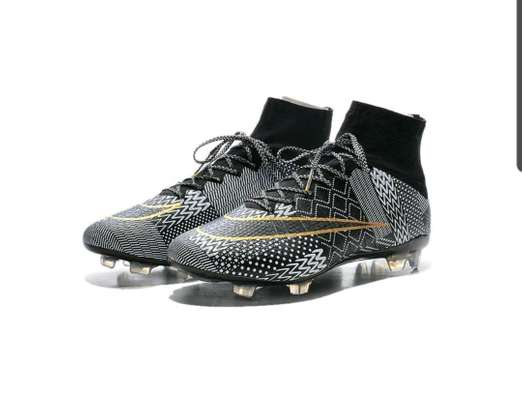 Black History Month Limited Edition NIKE Mercurial Superfly 4 Football Cleats image 4