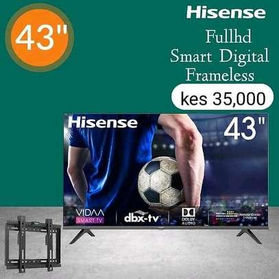 Hisense 43 smart Full HD LED TV - August sale image 1