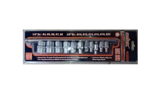 11 PCS E-Type Star Socket Torx Set E4 to E20 image 8