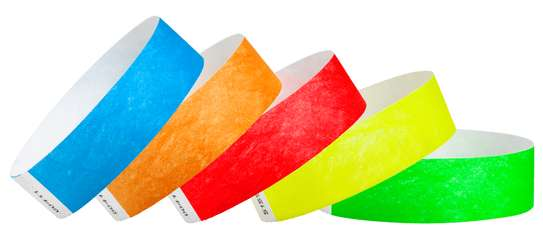 Event Wristband, Event Tags, Paper Wristbands, Tyvek image 2