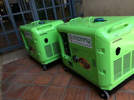 5KVA Roomny Diesel Engine Silent Gnerator complete with ATS