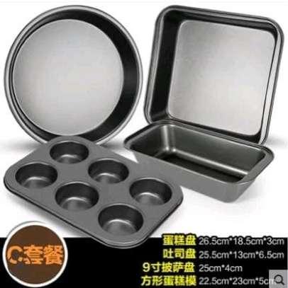 4 set baking tins image 4