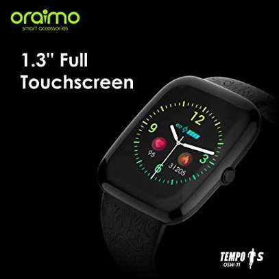 Oraimo Tempo-S IP67 Waterproof Smart Watch with Real-Time Notification, Pedometer/Calorie/Heart Rate Monitor and Activity & Sleep Tracking image 2