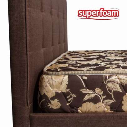 Superfoam high density quilted matress