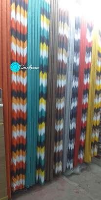 elegant custom-made double sided curtains image 1