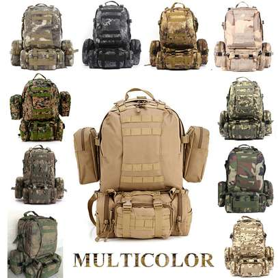 Military Bag 55L-Tactical Bag/Trekking/hiking/camping/Traveling bag image 2
