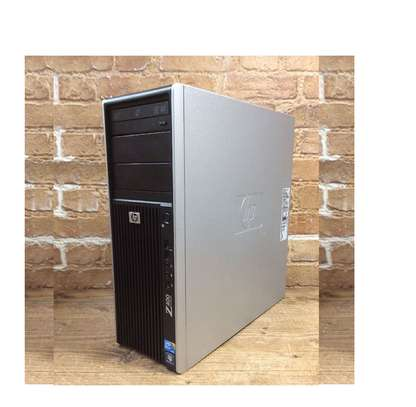 WorkHorse 8GB Ram And 1000GB Hdd HP Z400 Workstation Xeon Gaming Graphics Desktop Computer TOWER image 2