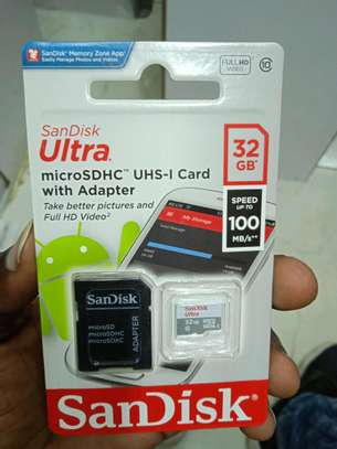 32gb memory cards in shop(High Speed) upto 100mb/s image 1