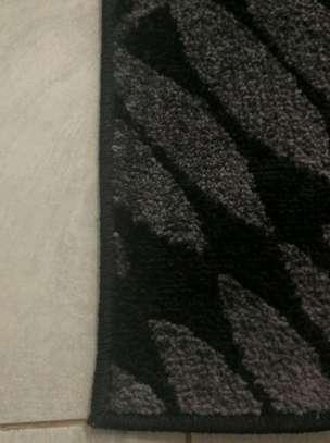 A Modern Black and Grey Carpet image 2