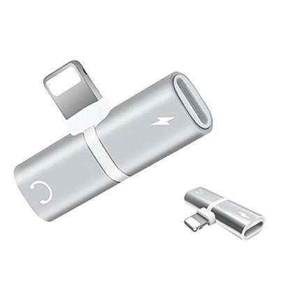2 In 1 Splitter Adapter For iPhone (Charging + Music Player) image 7