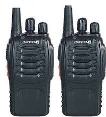 2 PCS Baofeng BF-888S Walkie Talkie 5W Handheld bf 888s UHF 16CH Comunicador Transmitter Transceiver 2 way radio outdoor image 1