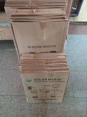 20 watts solarmax panel,12 volts image 1