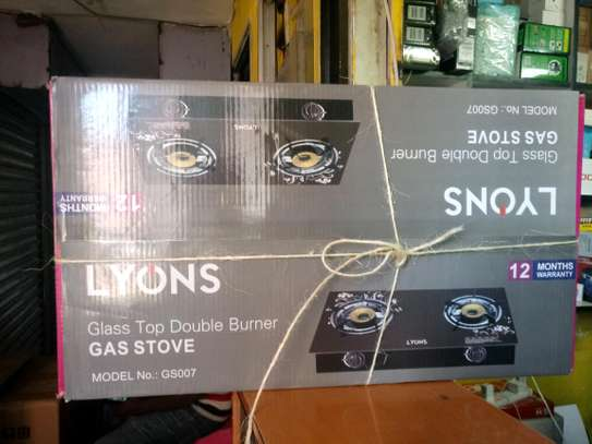 LYONS GS-007 Glass Top Double Glass cooker