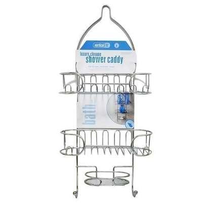 Bathroom Shower Caddy-Silver image 3