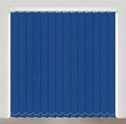 Office blinds blue image 2