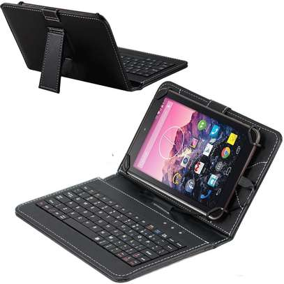 Tablet Case With Micro USB Keyboard for Samsung Galaxy Tab 2 3 4 10.1 inches image 3