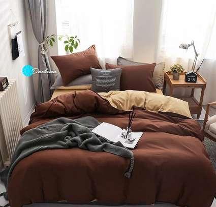 5*6 plain brown duvets image 1