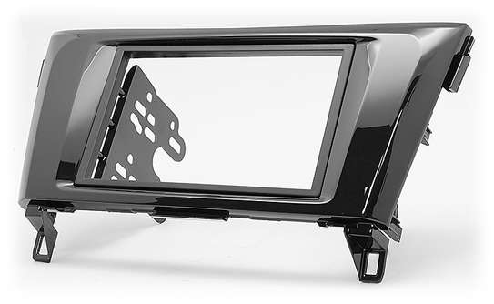 Double Din Stereo Fascia Console Panel For 2014+ Nissan X Trail. image 1