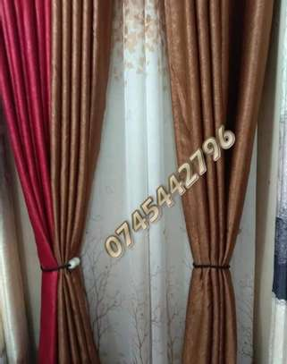 PLAIN SUPER QUALITY CURTAINS AND SHEERS image 1