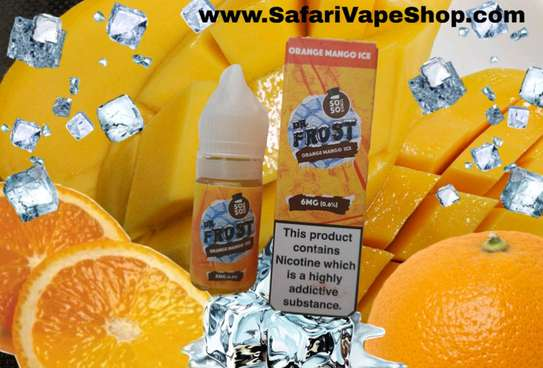 Orange Mango Ice Premium e- liquid Flavor 10 ml