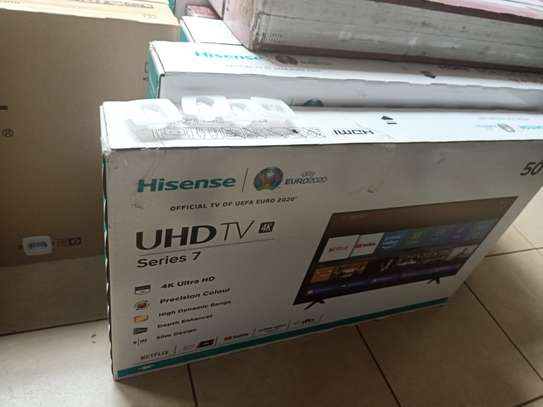 "hisense 50"" smart digital uhd tv image 1"