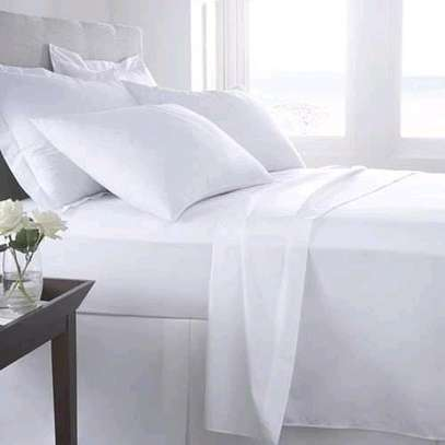 White cotton 6×6 bedsheets image 2