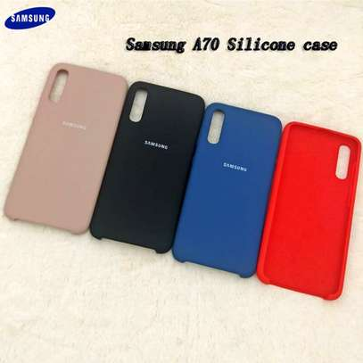 Silicone case with Soft Touch for Samsung A70,A60,A50,A40,A30,A20 image 7
