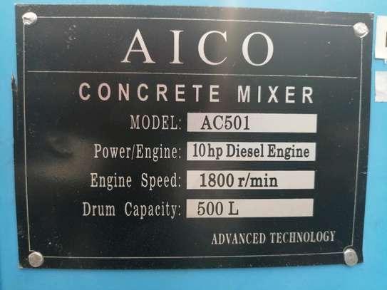 500l Concrete Mixer image 3