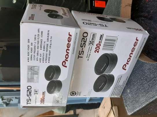 Pioneer ts-s20 universal car speaker tweeters image 2