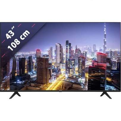 """Hisense  43"""" 4K Framless HDR Ultra UHD Smart TV Model 2020 image 1"""