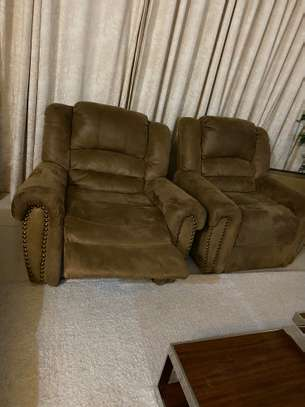 7 seater recliner couch/ sofa image 5