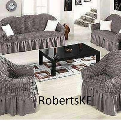 grey sofa cover image 1