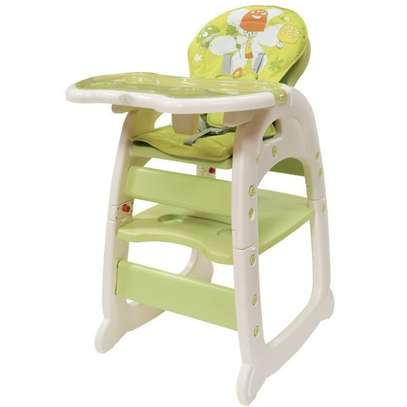 Convertible Baby High Chair/ Feeding Chair - Pink image 4
