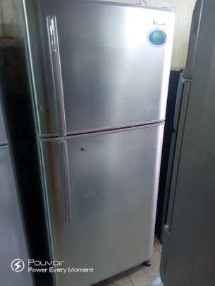Big Sanyo fridge