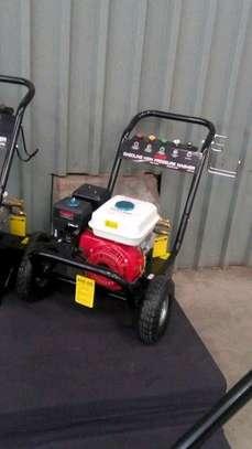 Petrol powered car wash machine