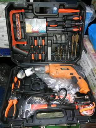 116TOOLSET WITH 750WATTS DRILL