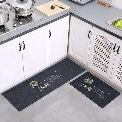 2pc Unique Kitchen Mat image 1