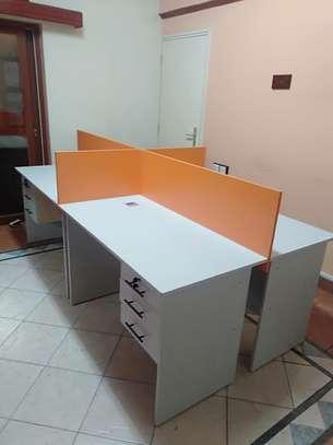 Office Desk 4 Way Workstation Station Ksh. 49,999 image 1