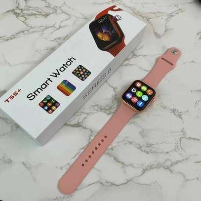 2021 Series 6 Newest T55+  Smartwatch Intelligent Reloj Waterproof Bluetooth Music Control Health Fitness Bracelet image 6