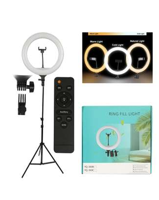 ring light 12 inches with tripod and ring /remote image 2