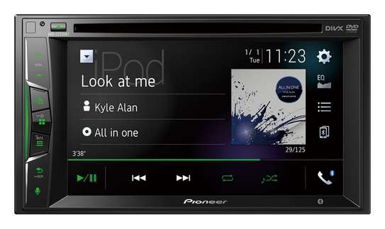 PIONEER AVH-Z2250BT Touch-screen Multimedia player with Apple CarPlay and Bluetooth. image 1
