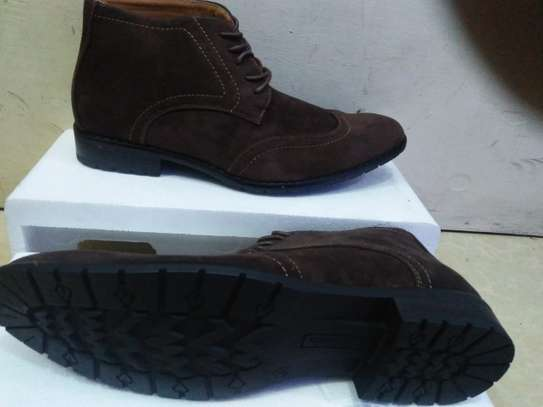 Suede Official Casual Boots image 1