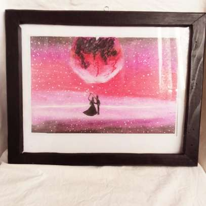 Royal Dance Under  the moon Painting image 1