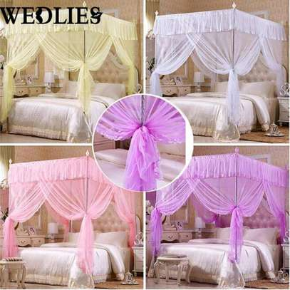 4 stand metallic Mosquito nets available in all colours image 3