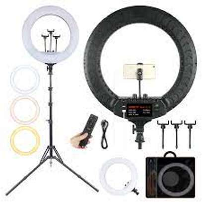 18 Inch Makeup Ring Light With Stand image 1